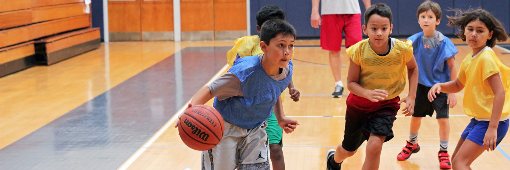 JCC of the Lehigh Valley Basketball Camp Youth Sports  CC Attribution 3.0 Kaitlyn Stefanowicz
