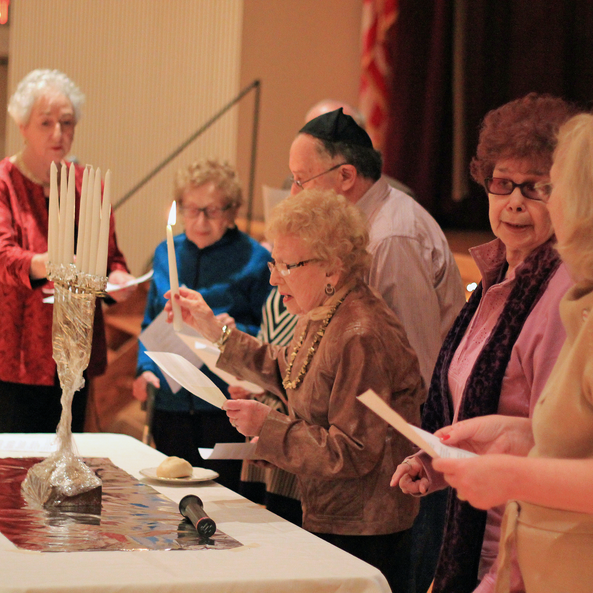 JCC of the Lehigh Valley Allentown Friendship Circle Senior Event Hanukkah CC Attribution 3.0 Kaitlyn Stefanowicz
